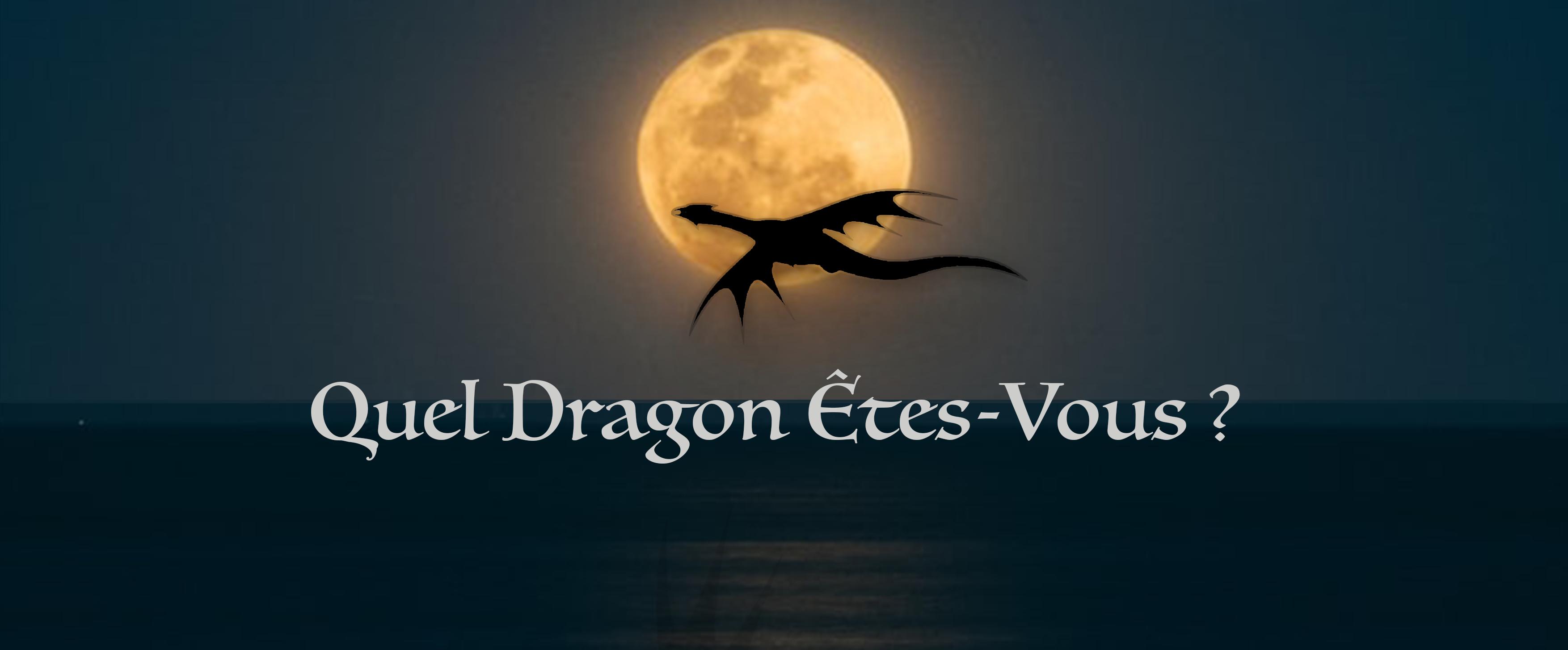 [TEST] Quel Dragon Êtes-vous ?
